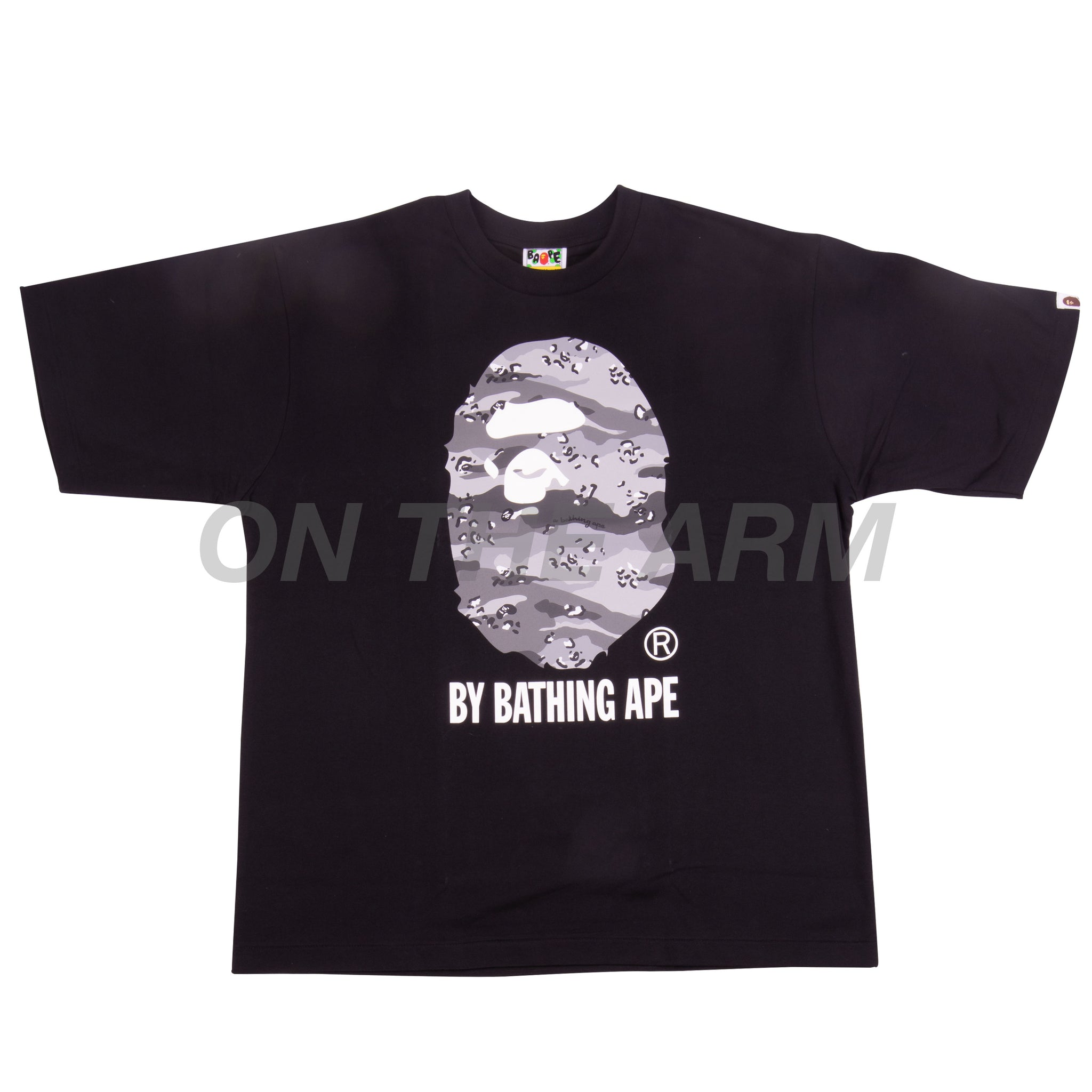 Bape Black/Grey Desert Camo By Bathing Ape Tee