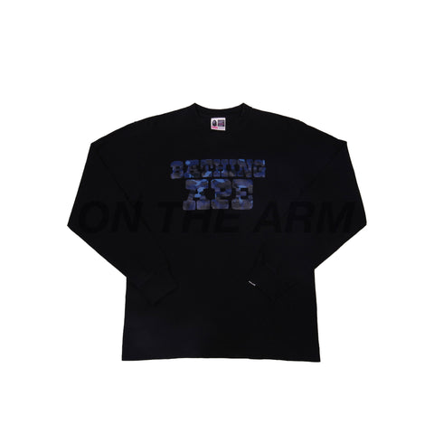 Bape Black/Blue Camo L/S