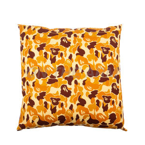 Bape Brown ABC Camo Pillow