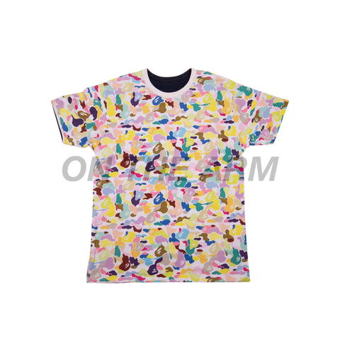 Bape Cotton Candy Camo Reversible Tee