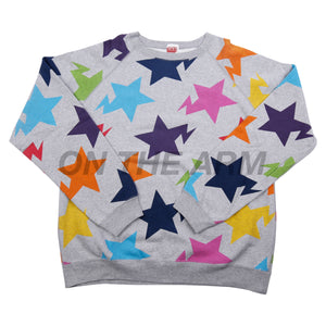 Bape Grey Multi Color Sta Crew USED
