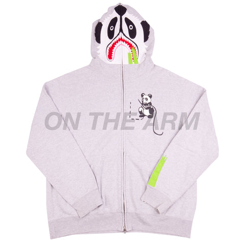 Bape Grey Panda Full Zip USED