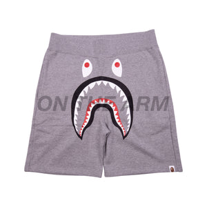 Bape Grey Shark Shorts