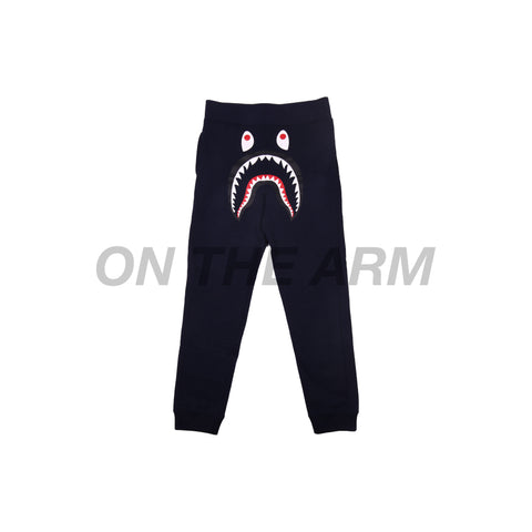 Bape Navy Shark Sweatpants