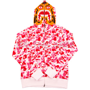 Bape Pink ABC Camo Tiger Full Zip