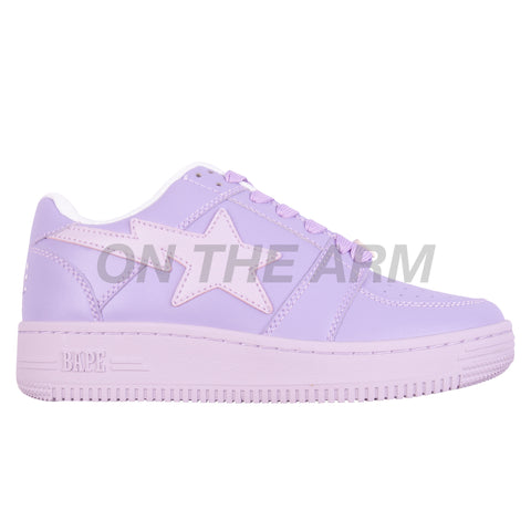 Bape Purple Bapesta