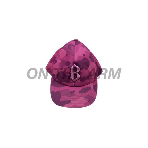 Bape Purple Camo Fitted Hat