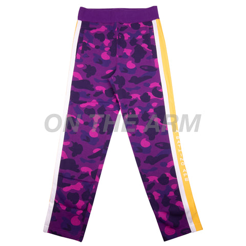 Bape Purple Camo Tape Sweats