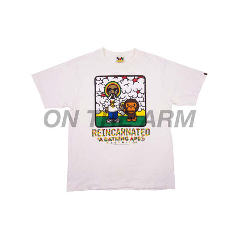 Bape White Snoop Dogg Tee
