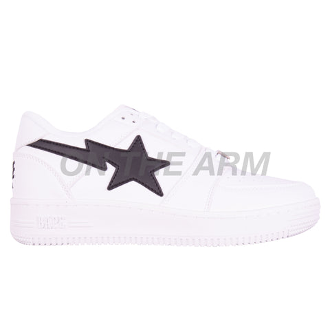 Bape White/Black Bapesta