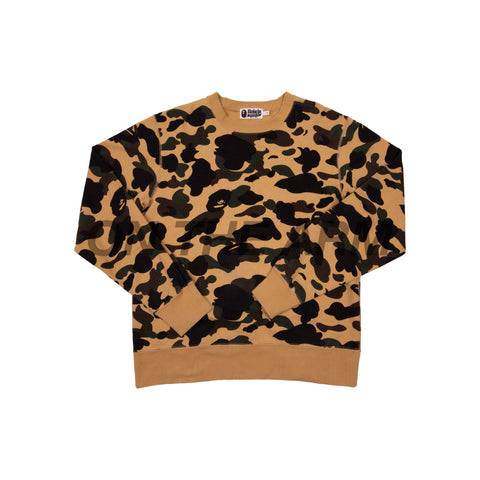 Bape Yellow Camo Crew