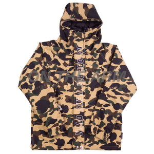 Bape Yellow First Camo OVO Jacket USED