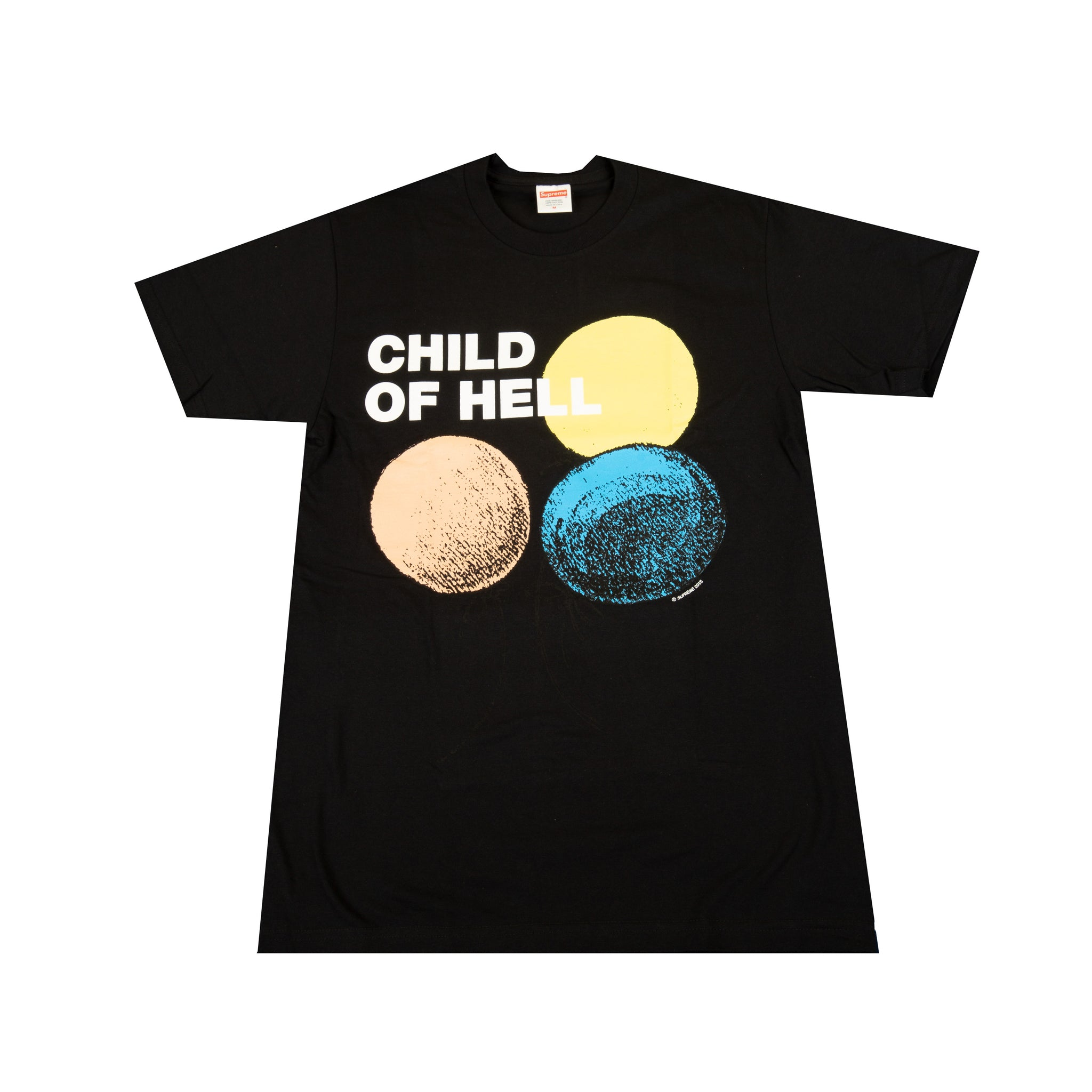 Supreme Black Child Of Hell Tee