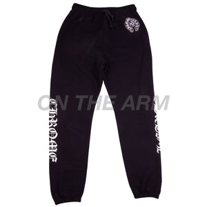 Chrome Hearts Black Horseshoe Sweats