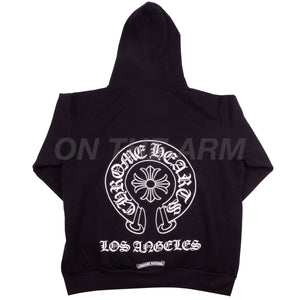 Chrome Hearts Black Los Angeles Zip Up