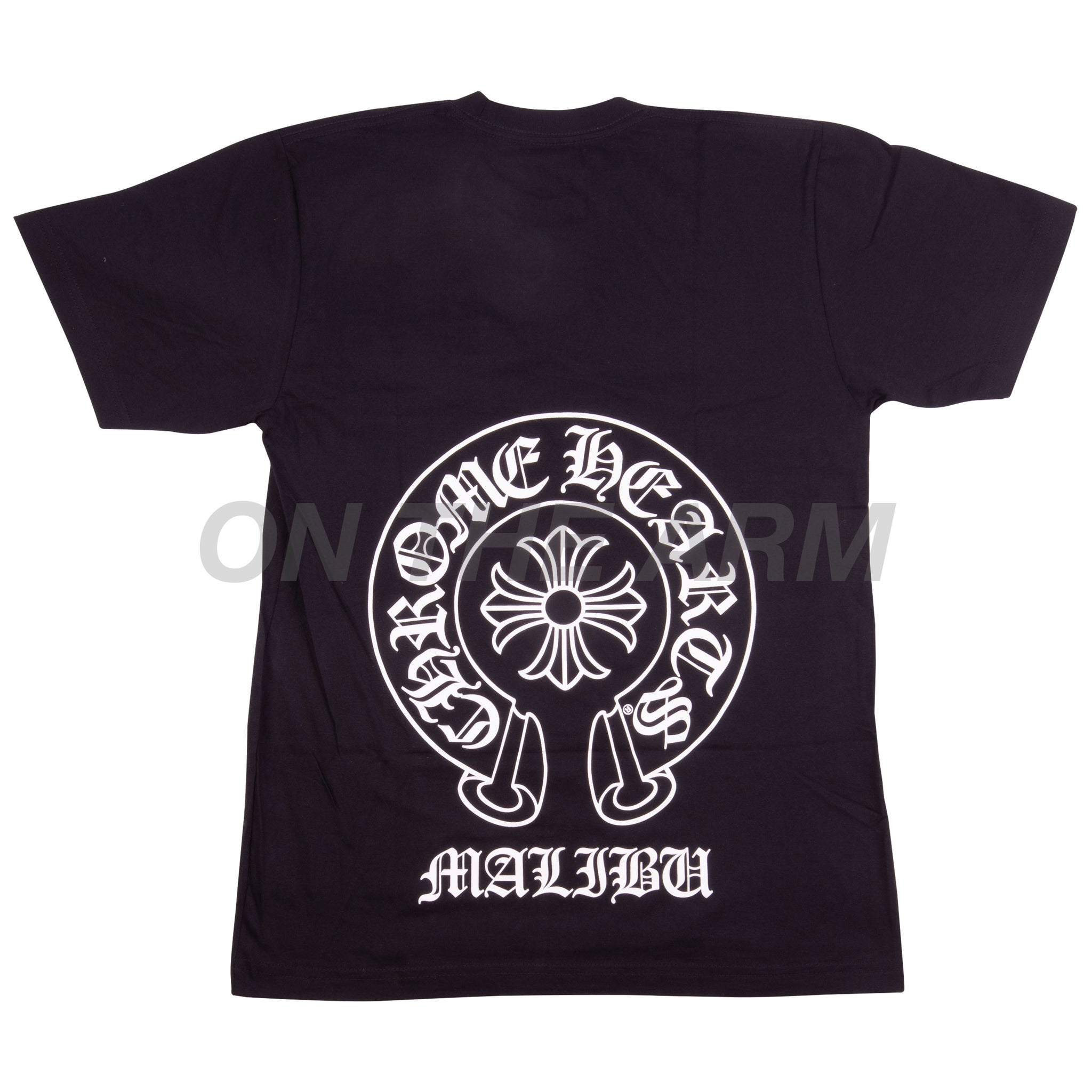 Chrome Hearts Black Malibu Pocket Tee