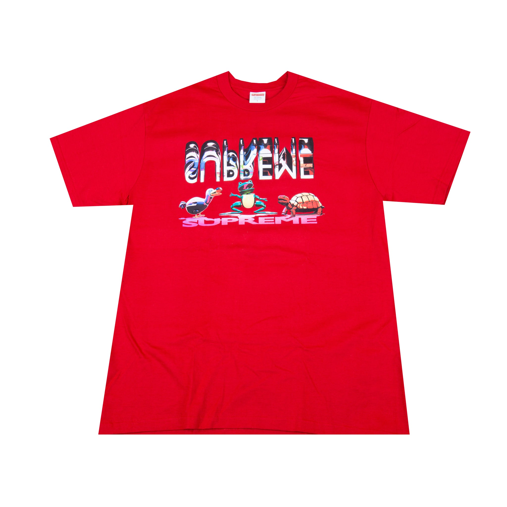 Supreme Red Friends Tee