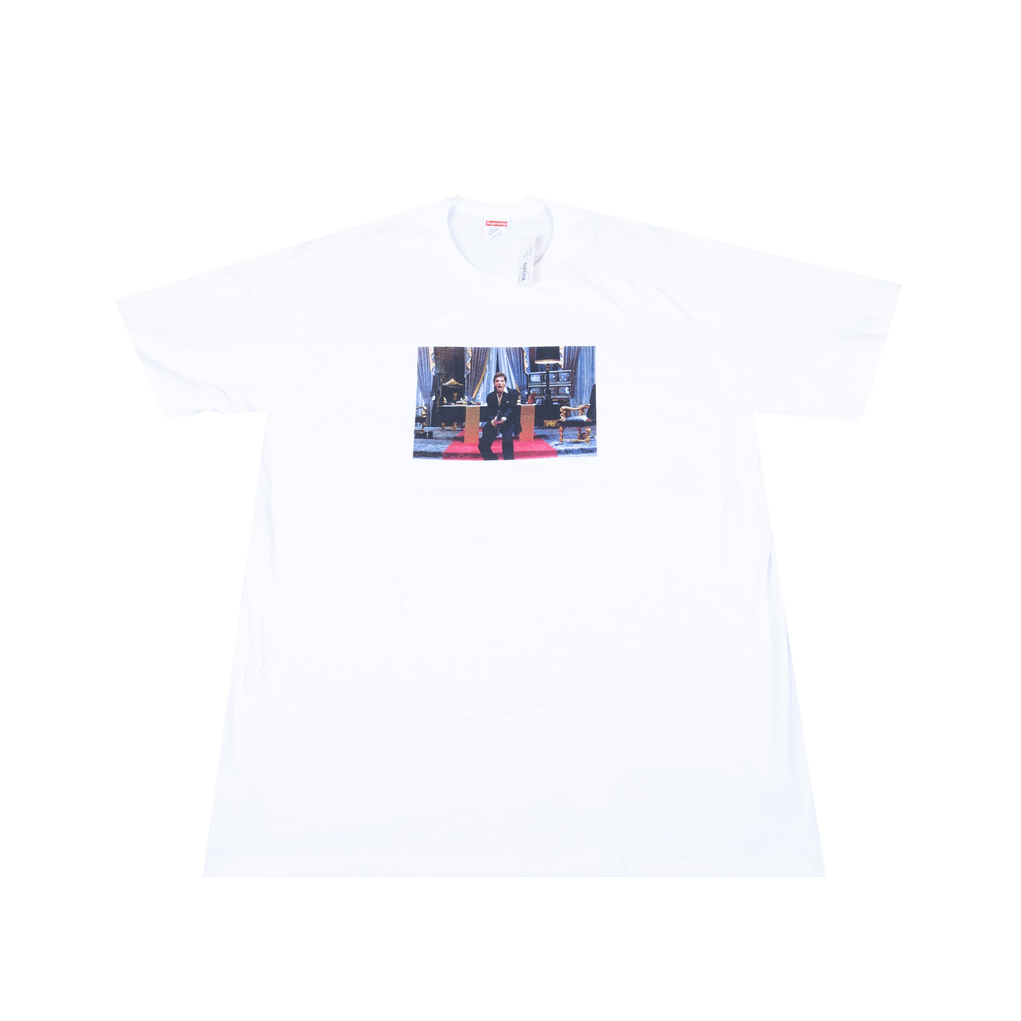Supreme White Scarface Friend Tee