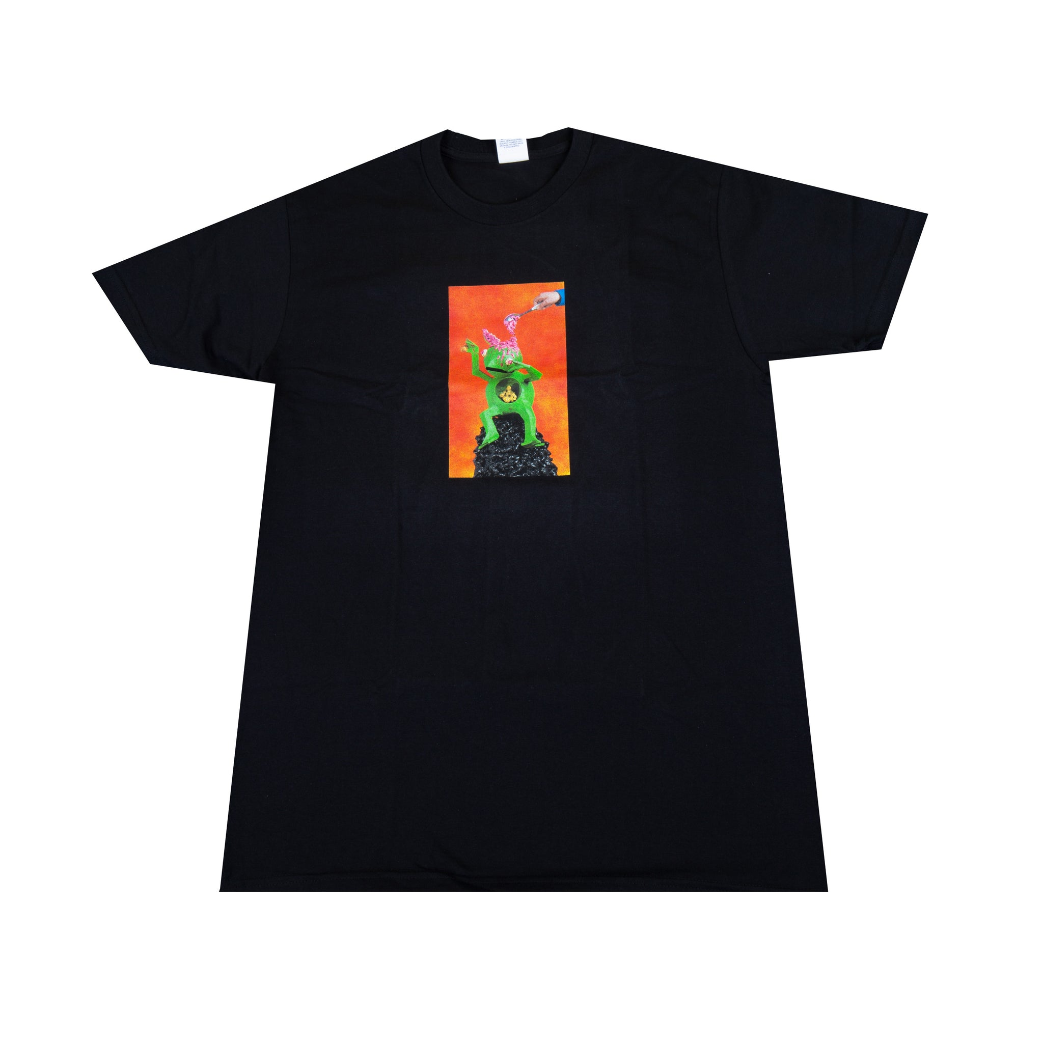 Supreme Black Mike Hill Brains Tee