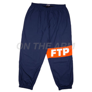 FTP Navy Waterproof Runner Pants