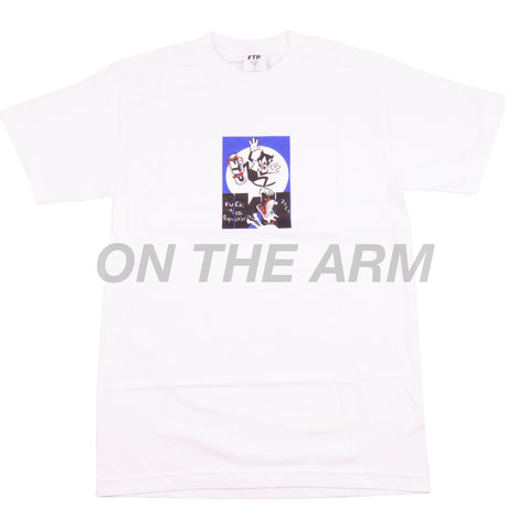 FTP White Cats Tee
