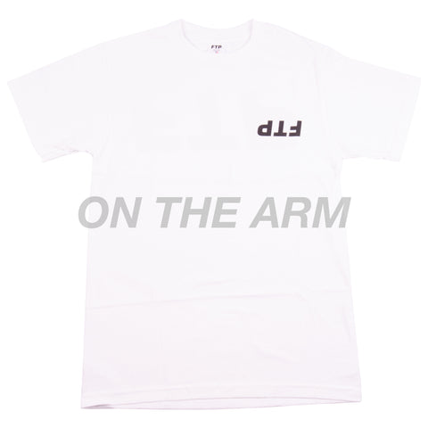 FTP White Upside Down Tee