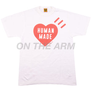 Human Made White Heart Tee