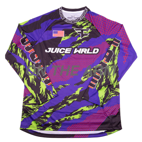 Juice Wrld Faze Clan Paintball Jersey