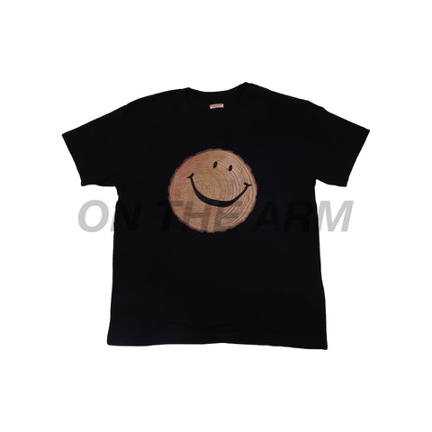 Kapital Black Stump Smiley Tee