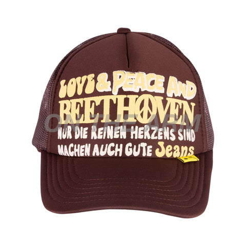 Kapital Brown Beethoven Trucker Hat