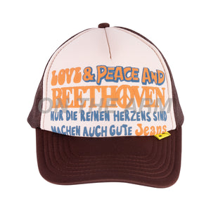 Kapital Brown/Kinari Beethoven Trucker Hat