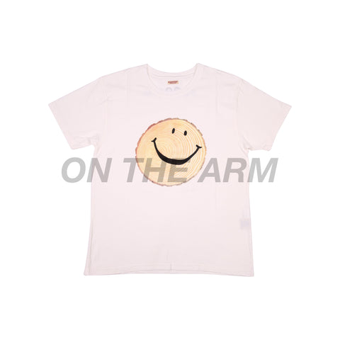 Kapital White Stump Smiley Tee