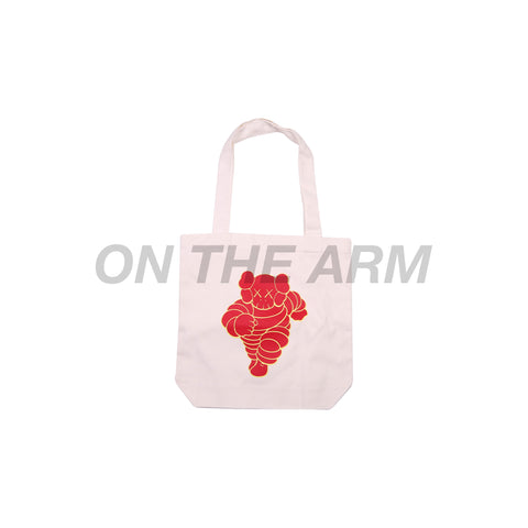 Kaws Red NGV Tote Bag