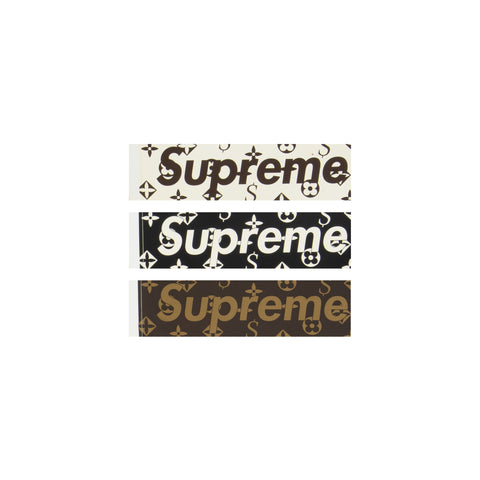 Supreme Louis Vuitton Box Logo Stickers
