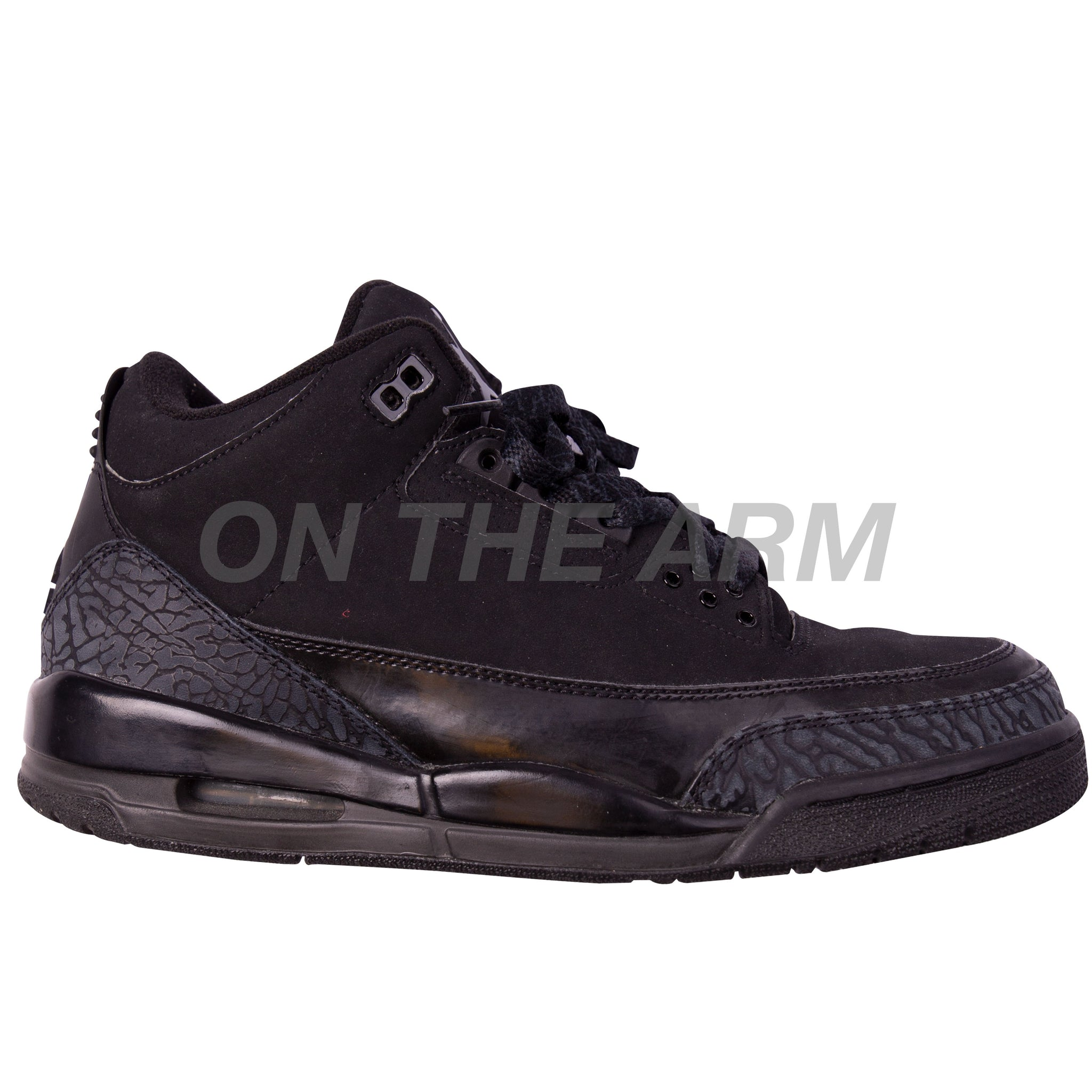 Nike Black Cat Air Jordan 3 USED