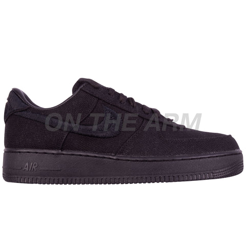 Nike Black Stussy Air Force 1 Low