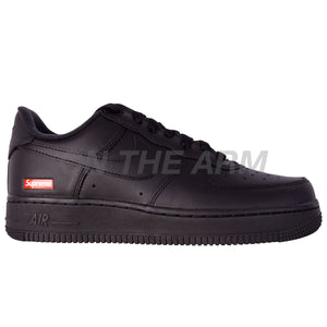 Nike Black Supreme Air Force 1 Low