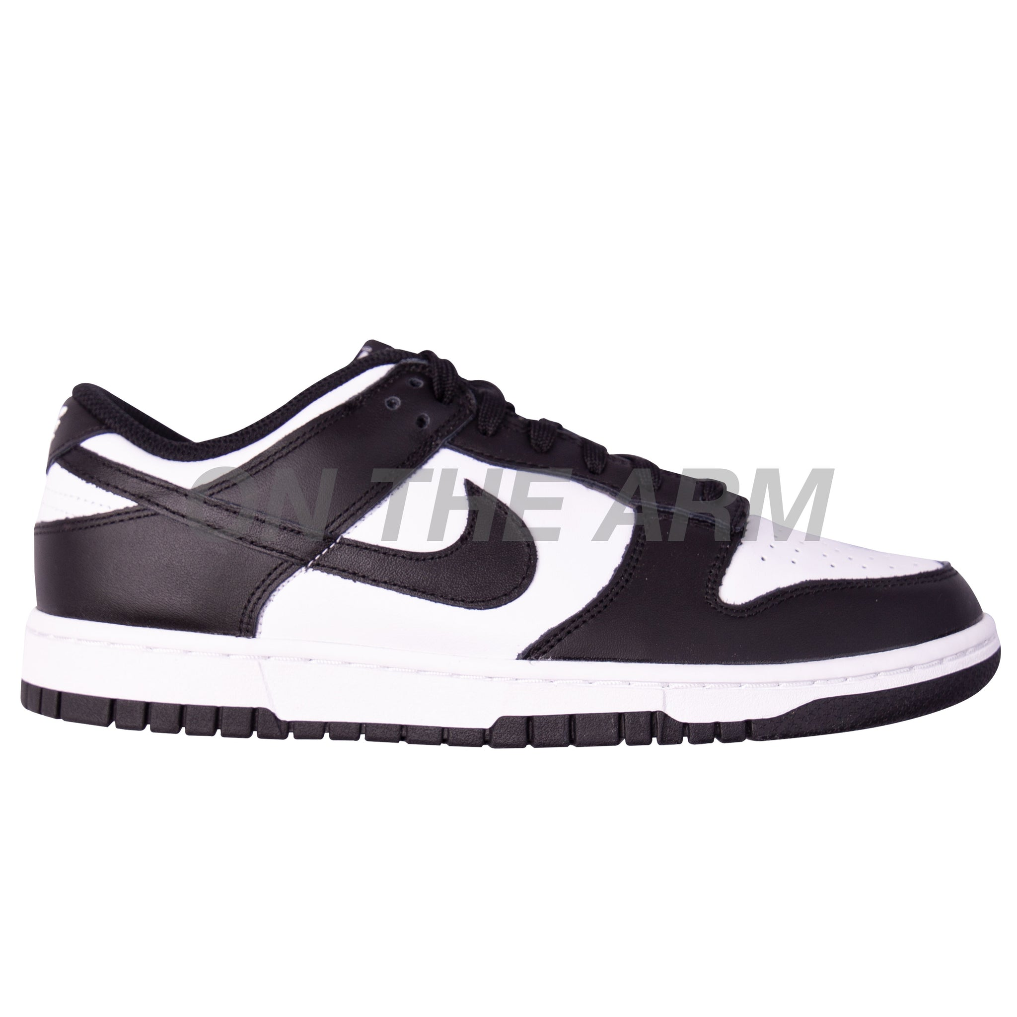 Nike Black/White Dunk Low (W)