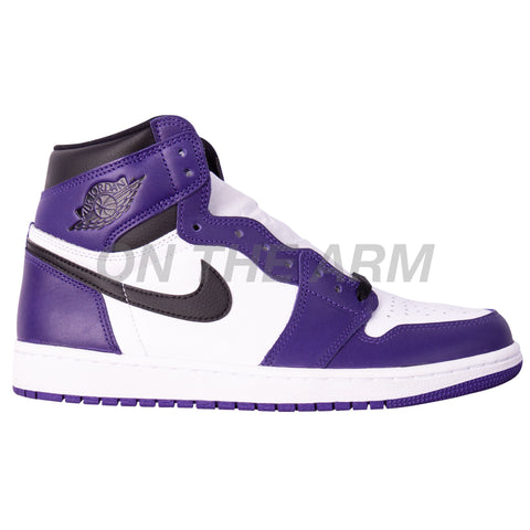 Nike Court Purple 2.0 Air Jordan 1 USED