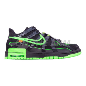 Nike Green Strike Off-White Air Rubber Dunk