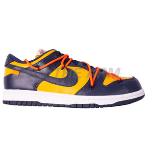 Nike Michigan Off-White Dunk Low LTHR