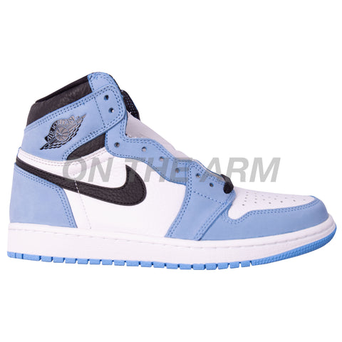 Nike University Blue Air Jordan 1 USED