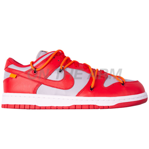 Nike University Red Off-White Dunk Low LTHR