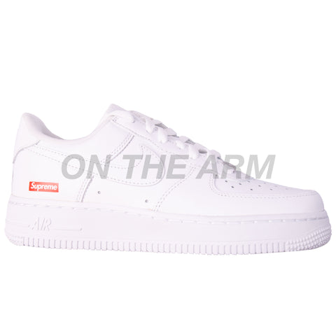 Nike White Supreme Air Force 1 Low