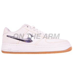 Nike White Travis Scott Air Force 1 Low (AF100) USED