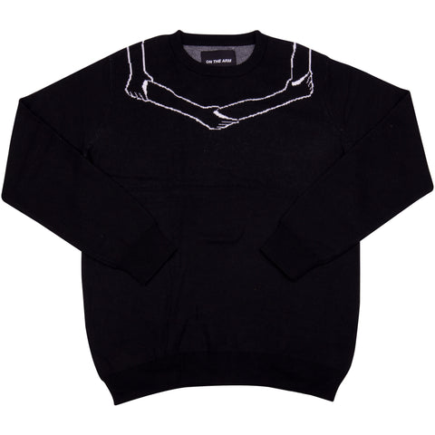 OTA Black Logo Knit Sweater