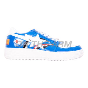 Bape Blue Shark Bapesta