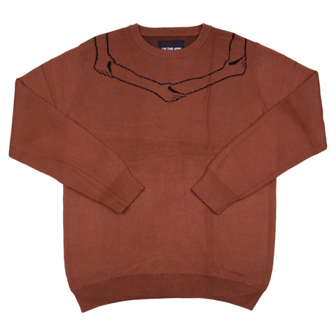 OTA Chocolate Logo Knit Sweater