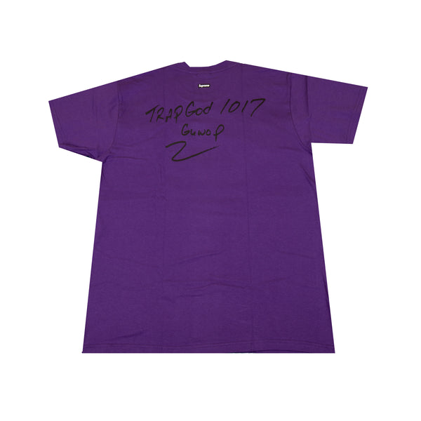 Supreme Purple Gucci Mane Tee