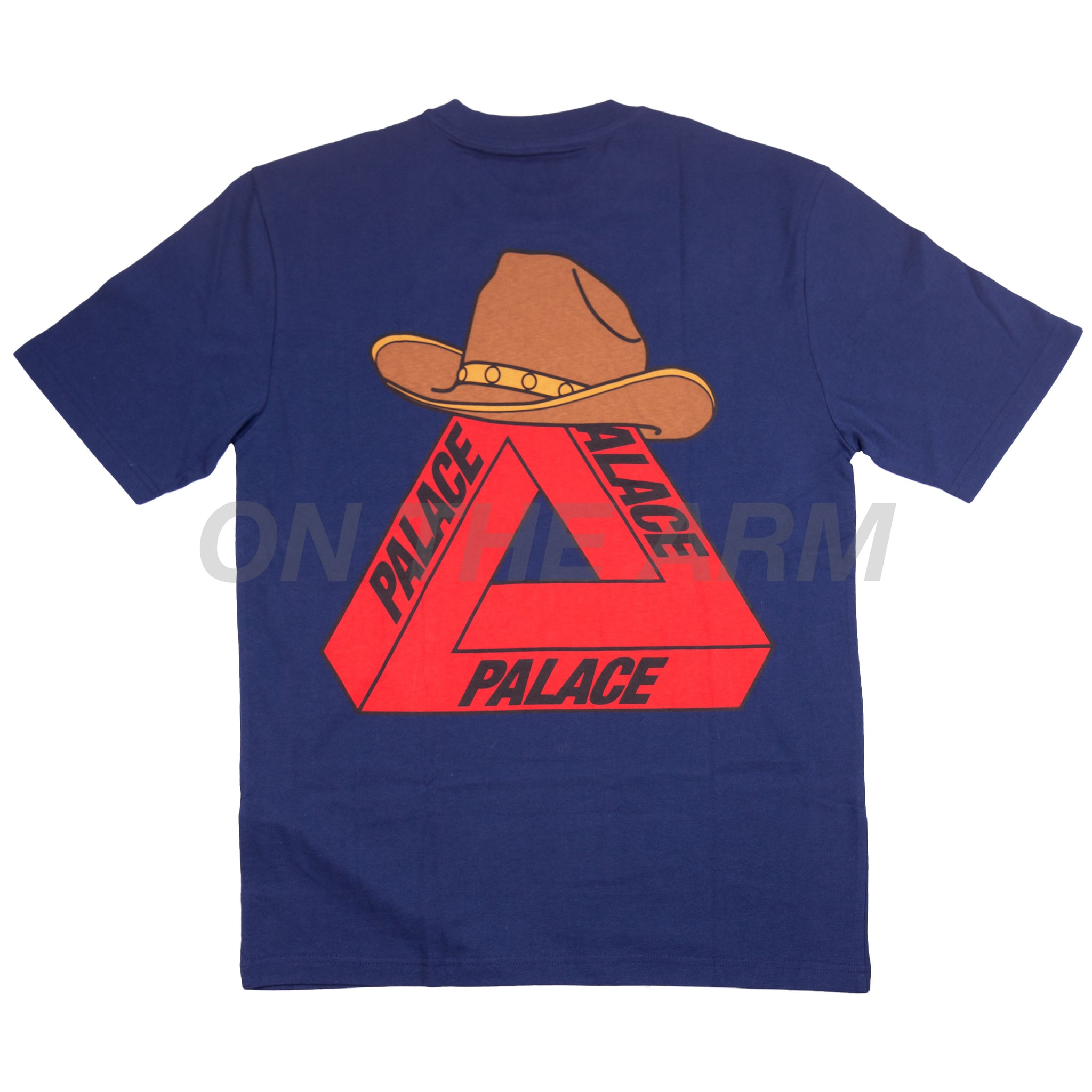 Palace Navy New York Opening Tri Ferg Tee